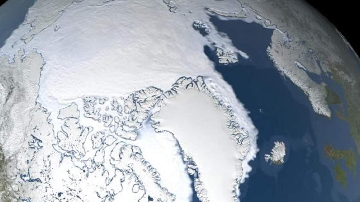 Більший від України: в Арктиці розтанув рекордний відрізок льоду