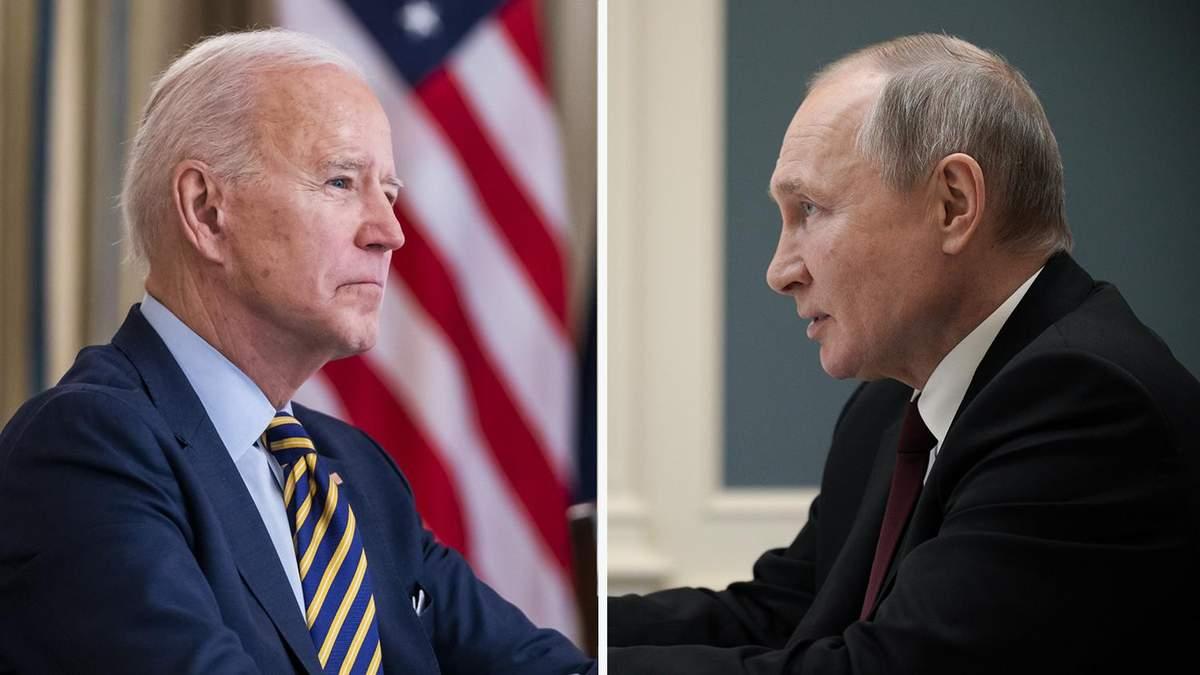 Білий дім: Зустріч з Байденом не буде нагородою для Путіна