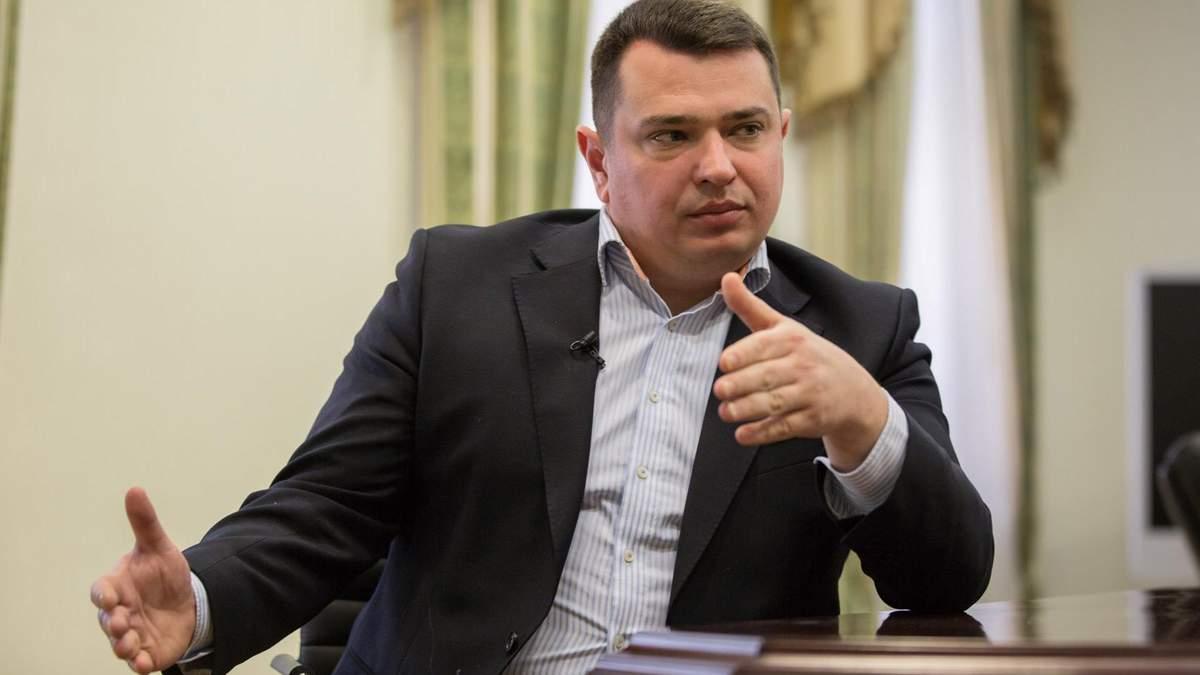 Сытник: НАБУ обратилось в СБУ из-за пленок Медведчука
