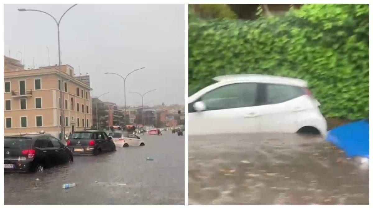 Потужні зливи затопили Рим 8 червня 2021