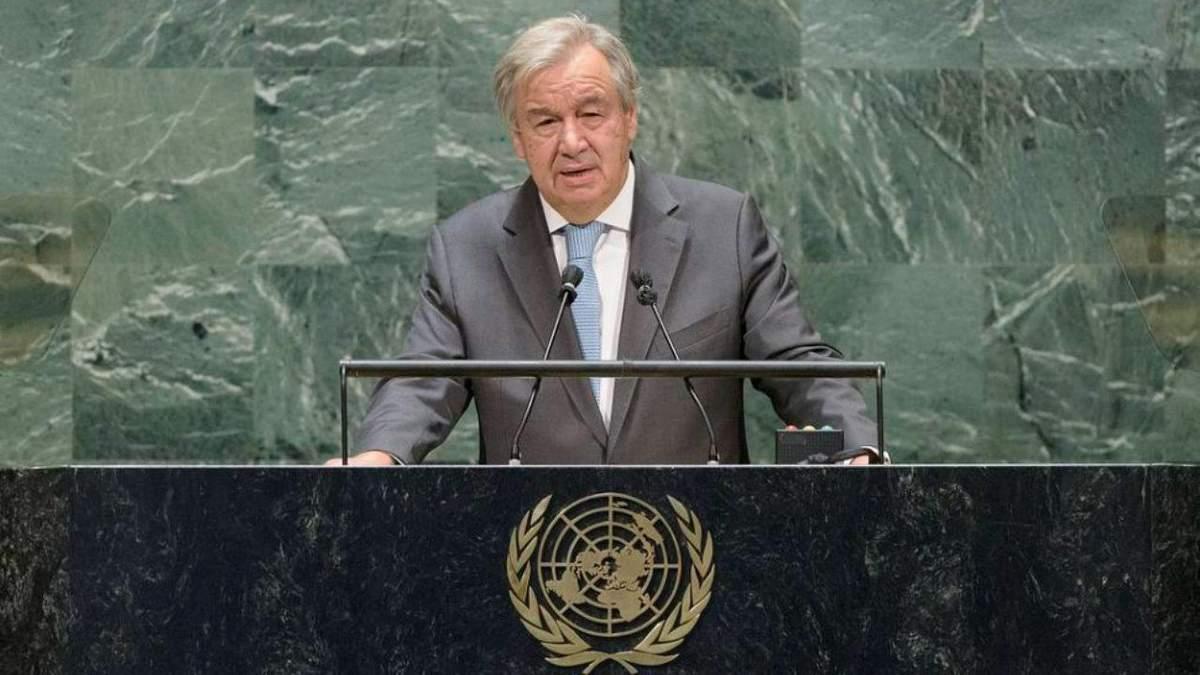 На другий термін: Радбез виступив за кандидатуру генсека ООН Гутерріша