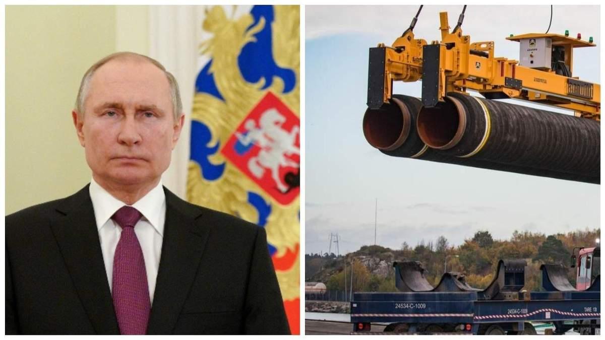 Путін про санкції США щодо Північного потоку-2: це беззмістовно