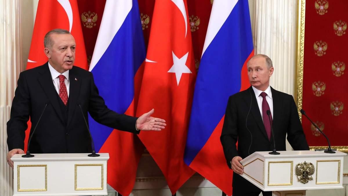 Эрдоган переигрывает Путина