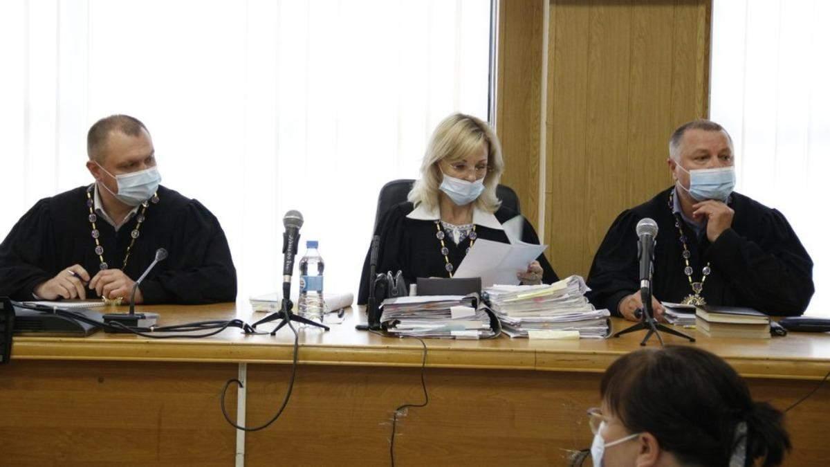 Судьи Стерненка по делу о 1 патроне подали в отставку