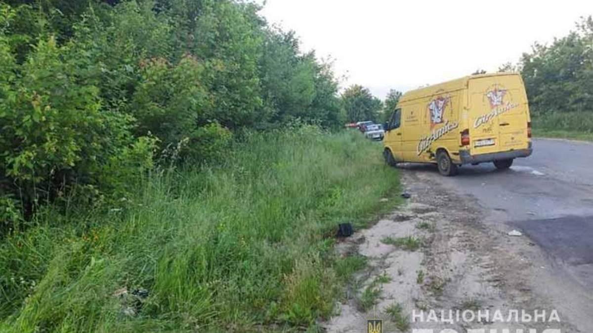 На Тернопольщине 13-летний школьник разбился на мотоцикле
