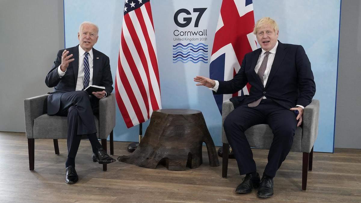 Байден і Джонсон підписали нову геополітичну угоду – Атлантичну хартію