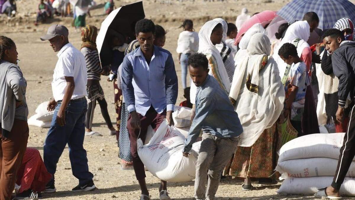 В Ефіопії катастрофічна продовольча ситуація, люди голодують