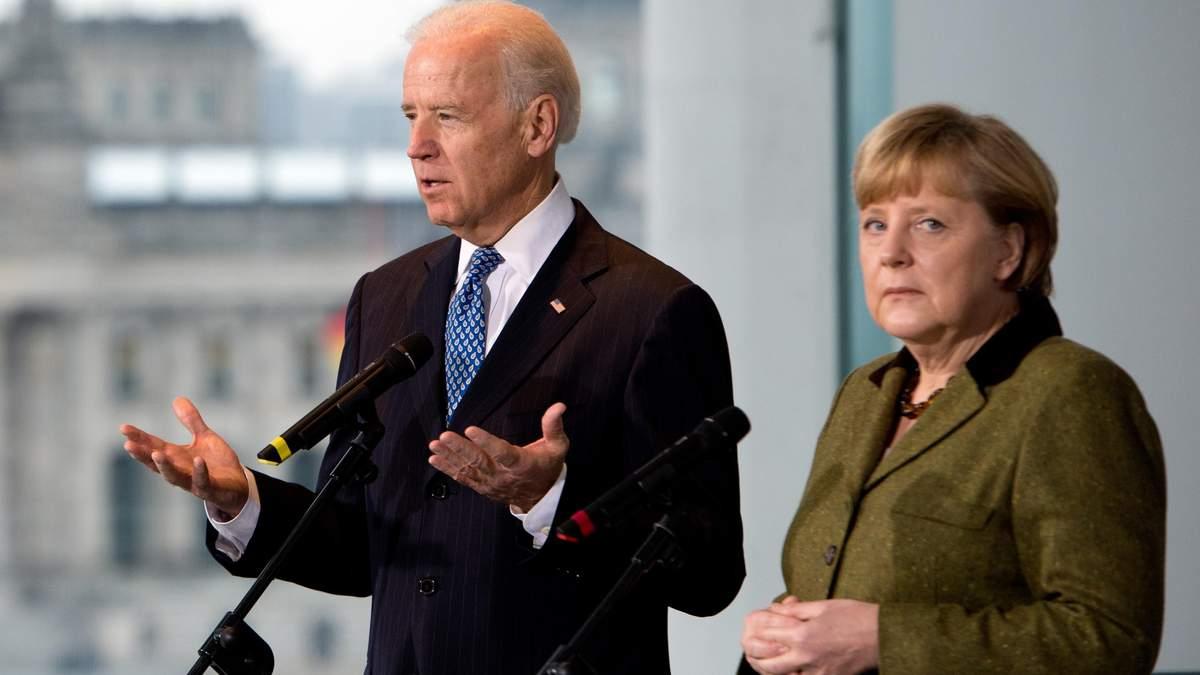 Меркель поїде в США, аби врегулювати ситуацію з Північним потоком-2