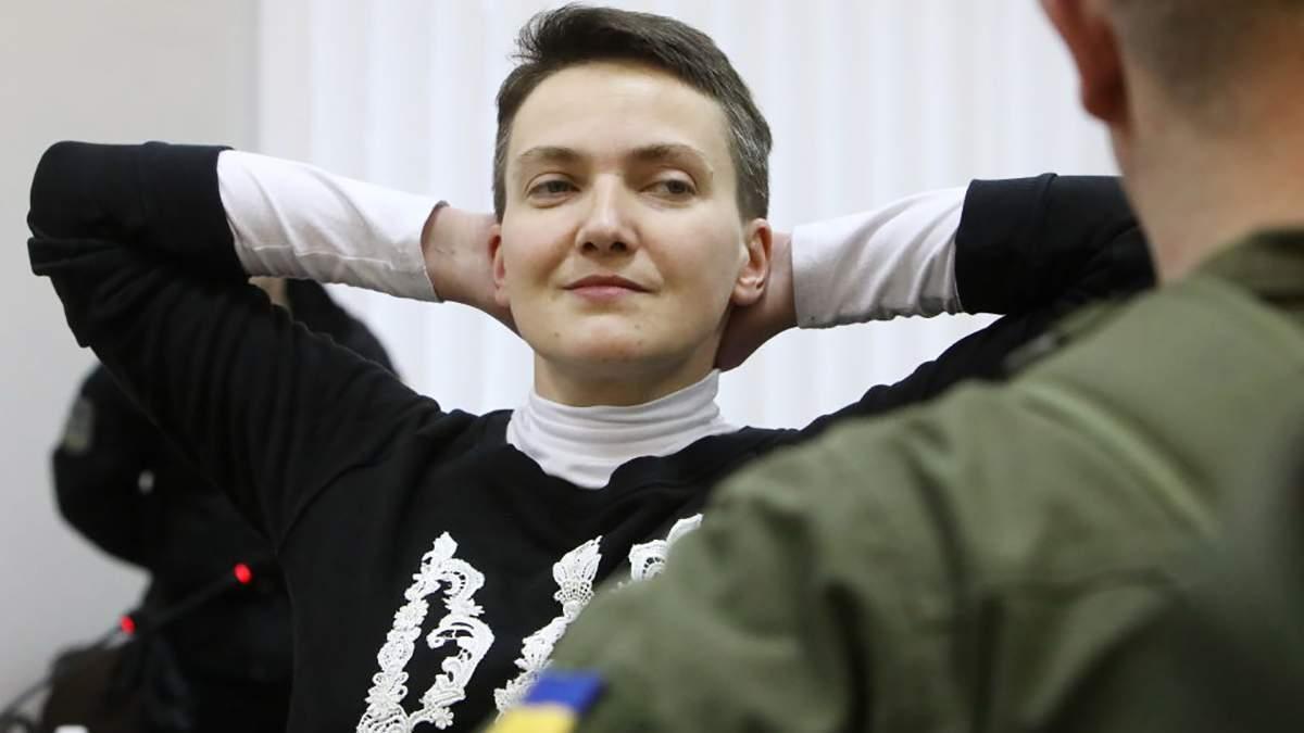 """Суд отменил выплату Надежде Савченко 600 тысяч гривен за """"незаконный арест"""""""