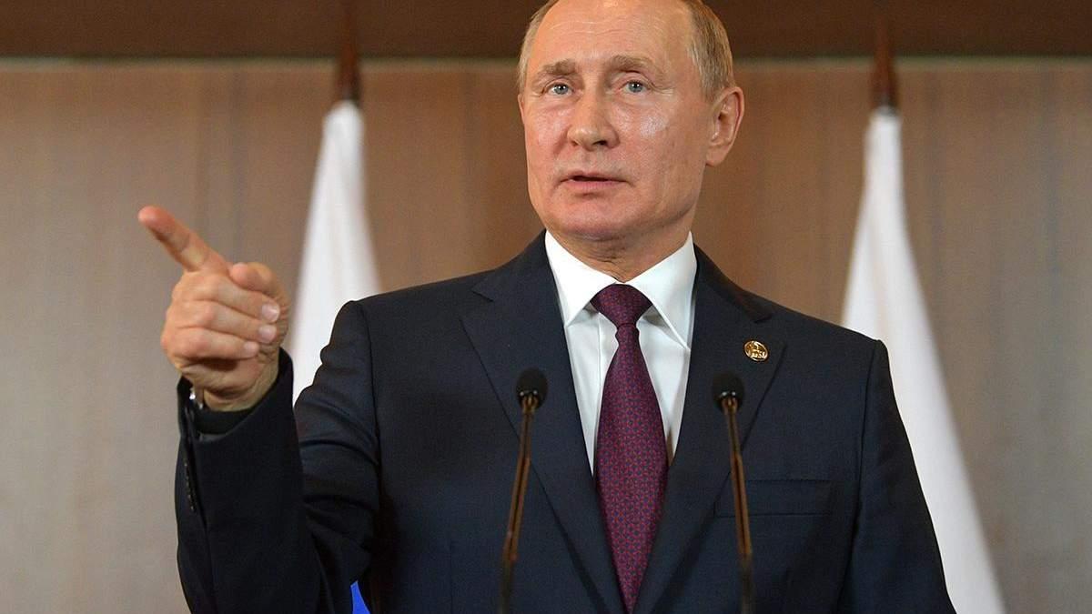 Путин взорвался диарейным фонтаном из-за предложения Зеленского