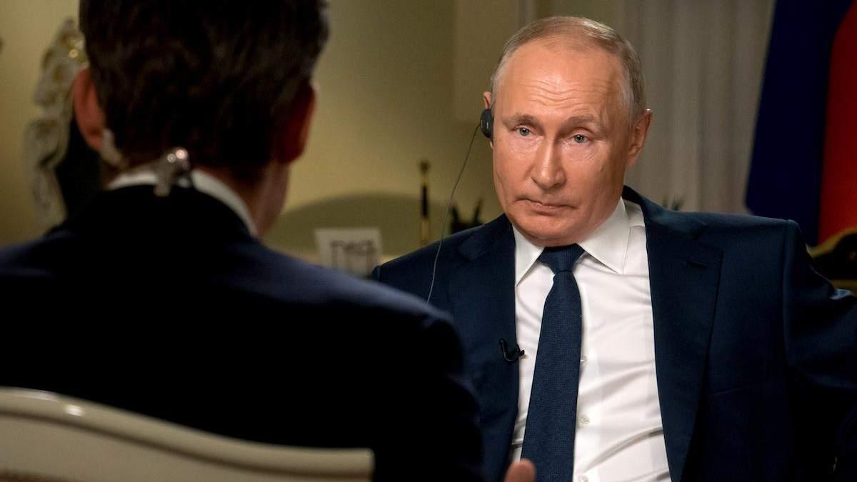 Інтерв'ю Путіна NBC: про що розповів глава Кремля журналістам зі США