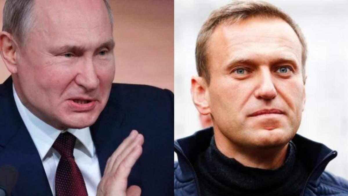 Ничего обсуждать Путин о теме Навального на встрече с Байденом