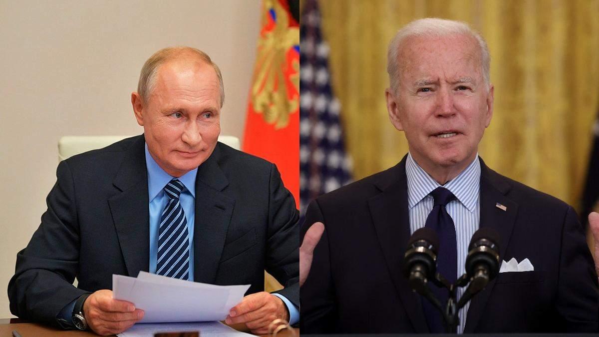 Після зустрічі Байден і Путін проведуть окремі пресконференції