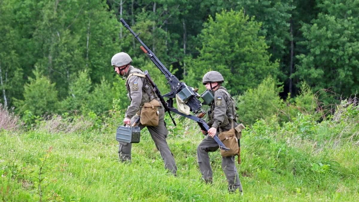 Кулеметники Нацгвардії провели навчання на Прикарпатті