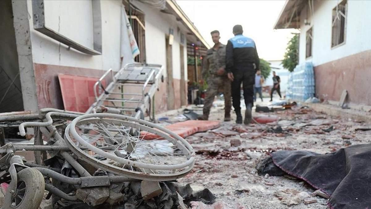 В Сирии обстреляли больницу ракетами: 18 погибших, среди них дети