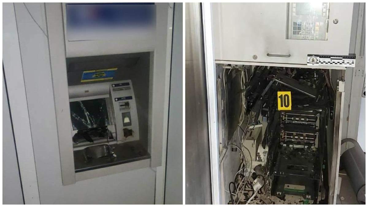 У Харкові стався вибух у супермаркеті: невідомі підірвали банкомат