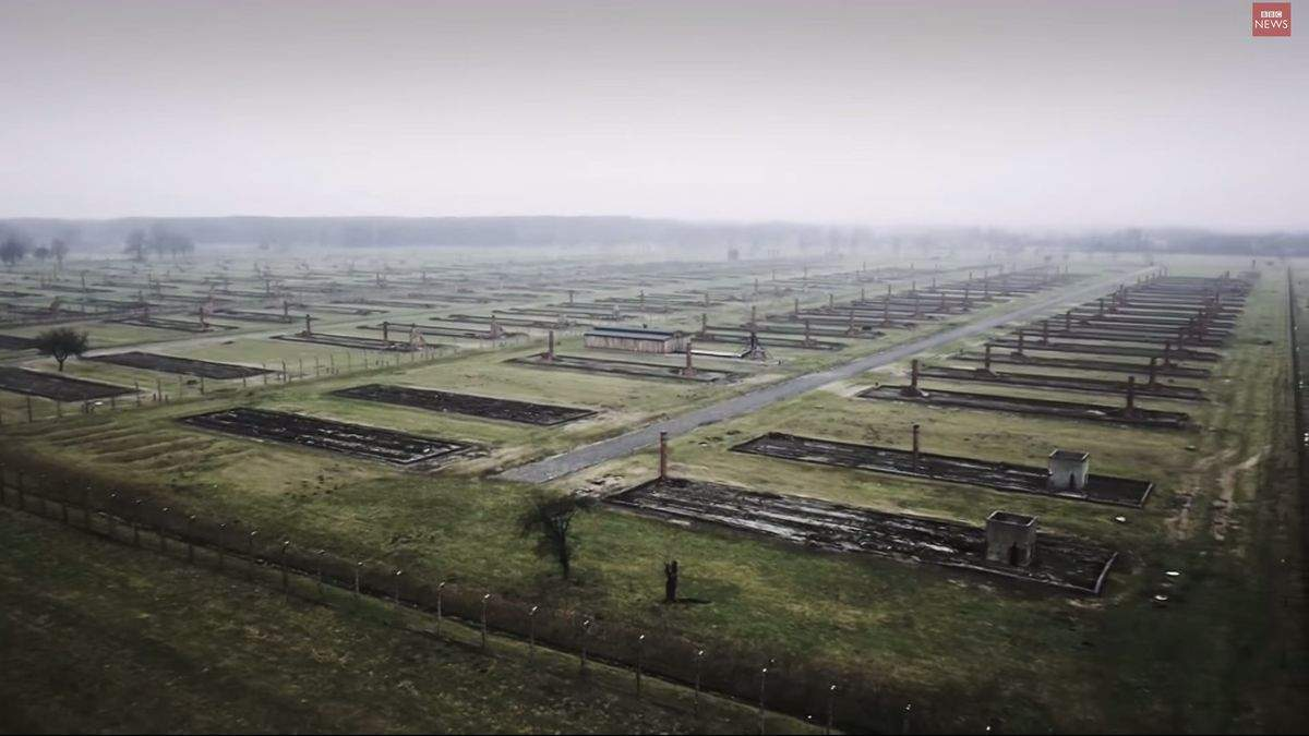 Поляк нашел человеческие останки возле бывшего концлагеря Аушвиц