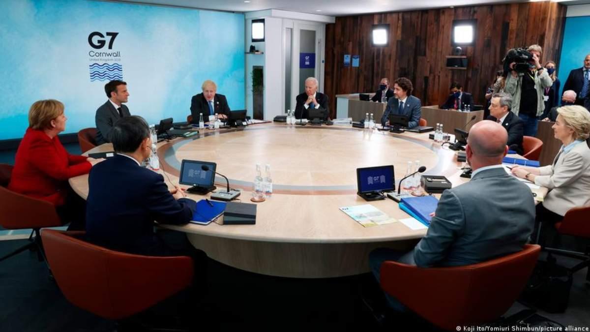 Лидеры G7 согласовали совместные климатические цели до 2050 года