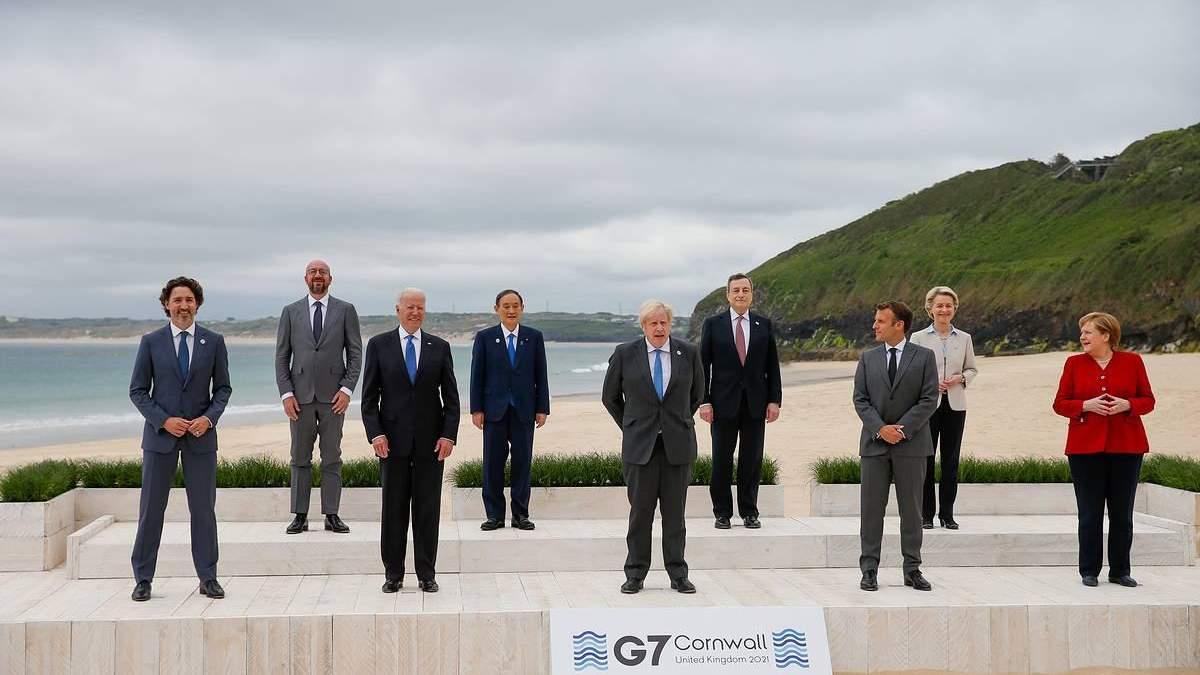 Коммюнике саммита G7: Лидеры стран «Группы семи» непоколебимо поддерживают государство Украину