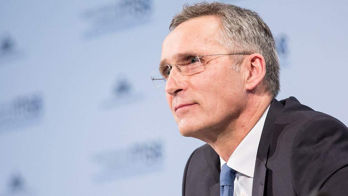 Генсек НАТО визнав, що у посадці літака у Білорусі була роль Росії