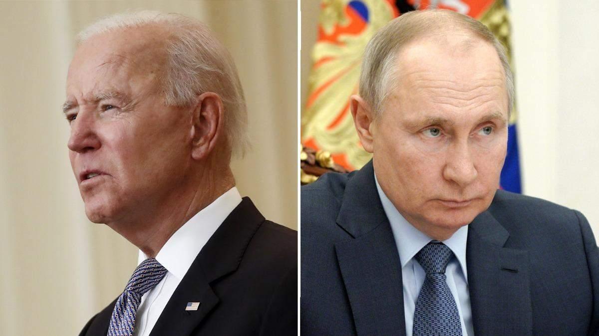 Я буду з ним дуже прямолінійним, – Байден про Путіна