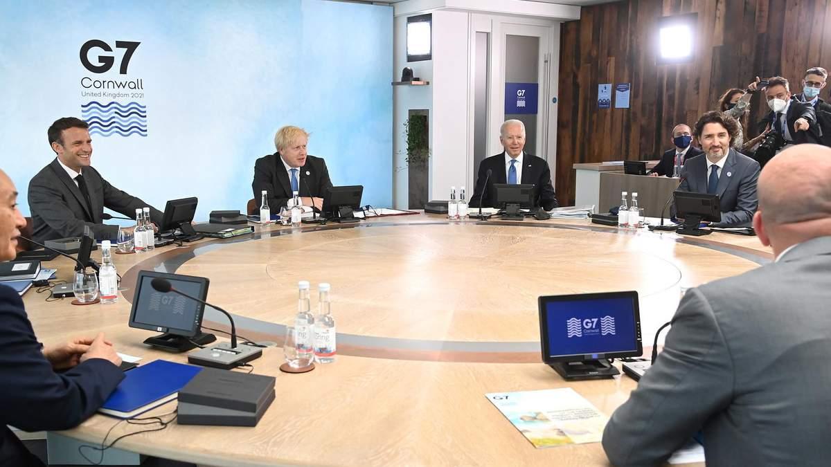 Лидеры G7 определили 6 приоритетов для развития мира