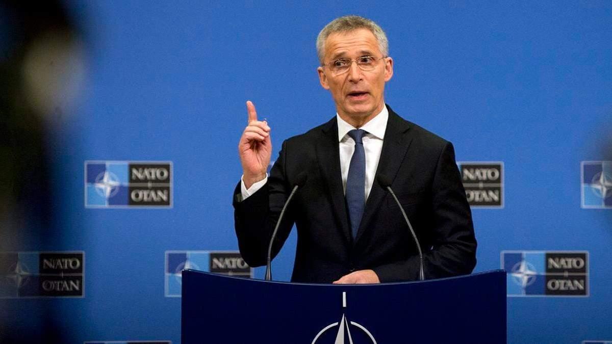 НАТО нарощуватиме військовий потенціал для протидії Росії, –  Генсек
