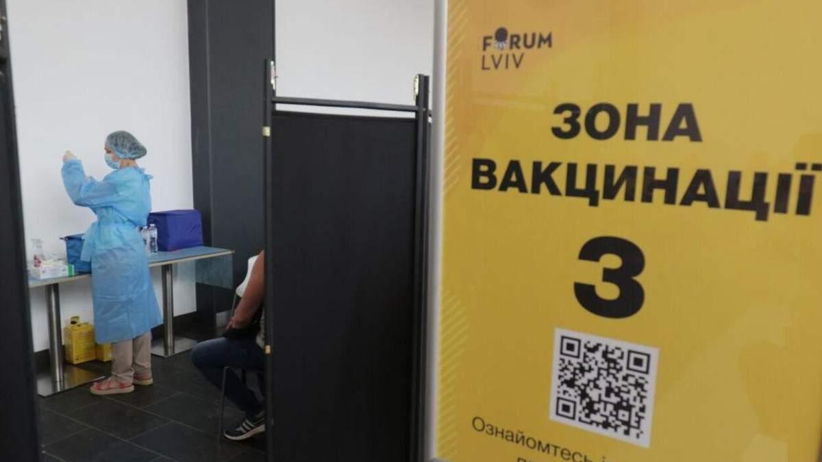 У Львові планують відкрити додаткові центри вакцинації від коронавірусу