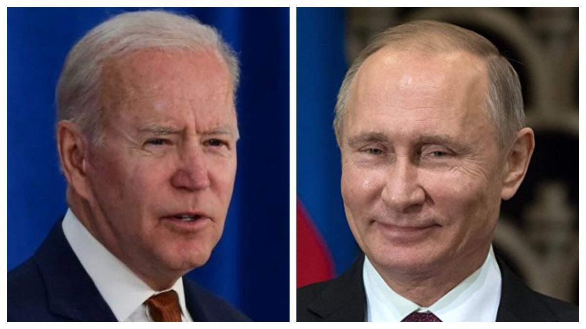Россия дала сигнал об Украине перед встречей Путина с Байденом