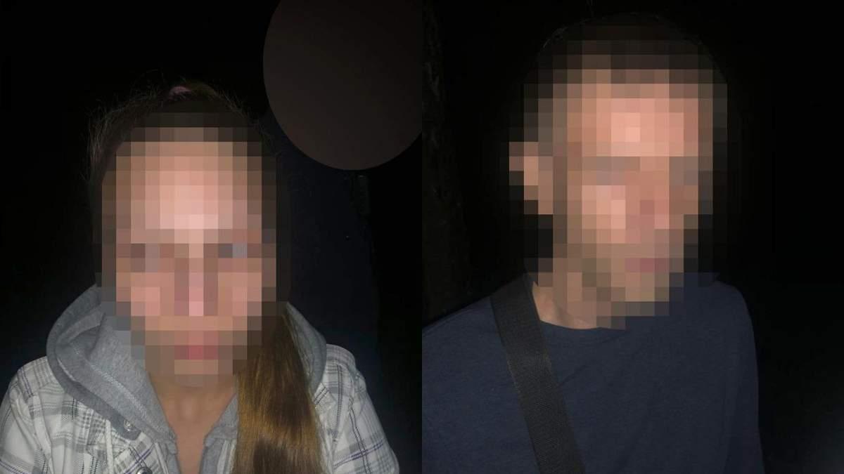 В львовском парке полиция задержала двух наркодилеров: фото