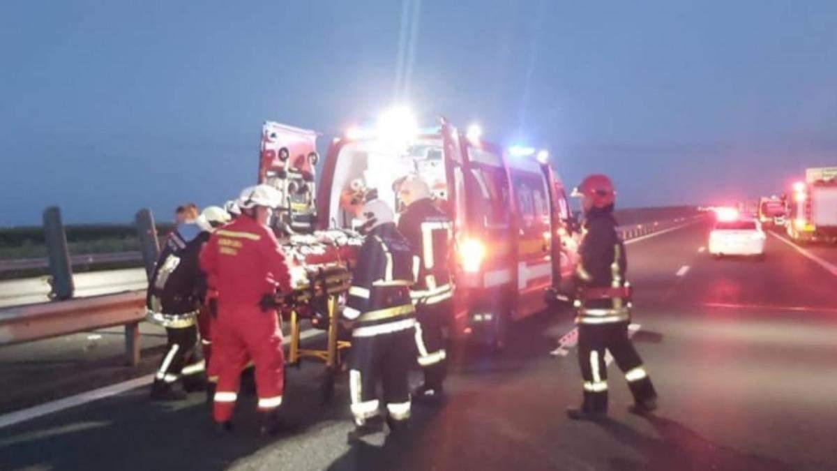 У Румунії розбився автобус з українцями: є жертви