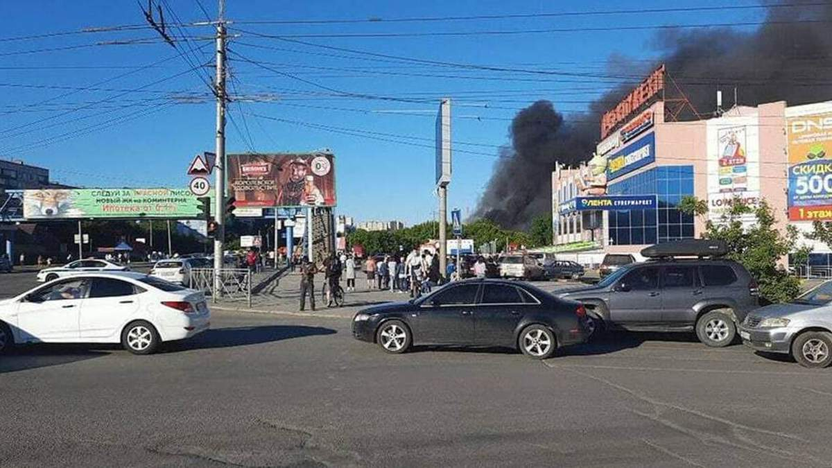 Первые кадры после взрыва на АЗС в России: видео