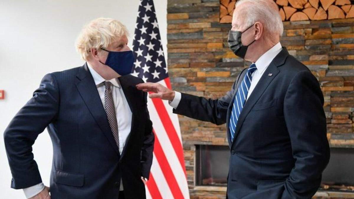 Байден готує жорсткі послання Путіну, – Джонсон