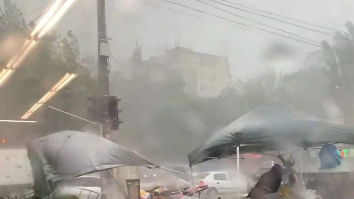 Апокалиптическая непогода Одесса страдает от ливня – видео