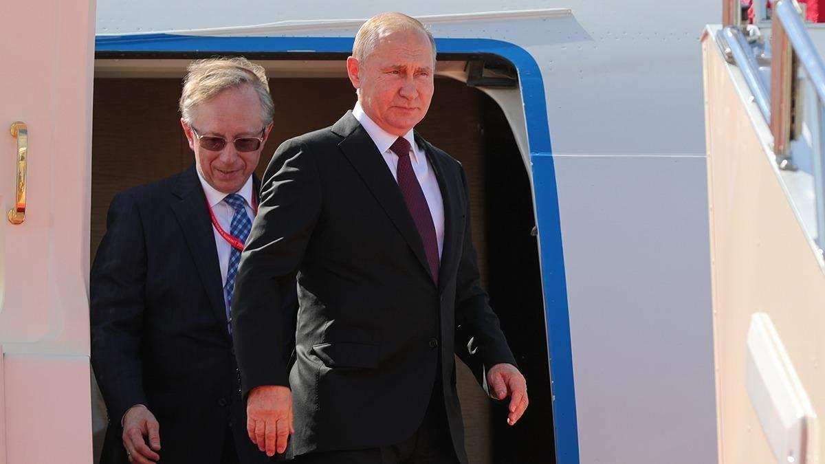 Літак Путіна не міг сісти в Женеві через приліт Байдена