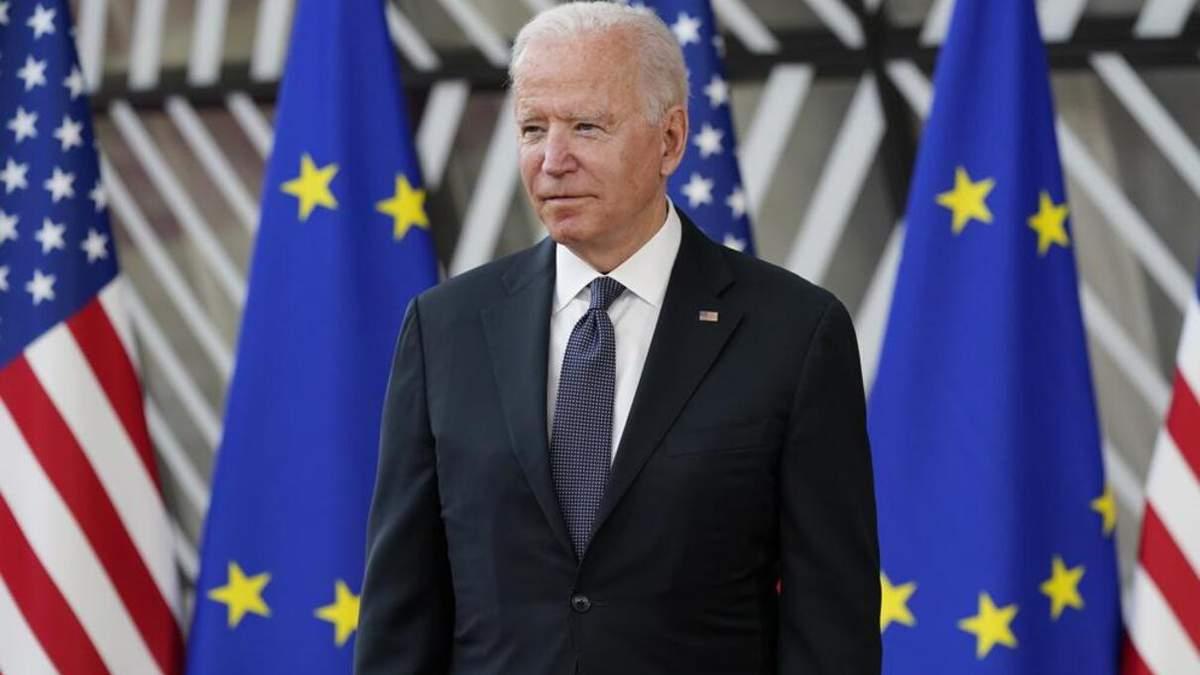 Байден підтримує територіальну цілісність України