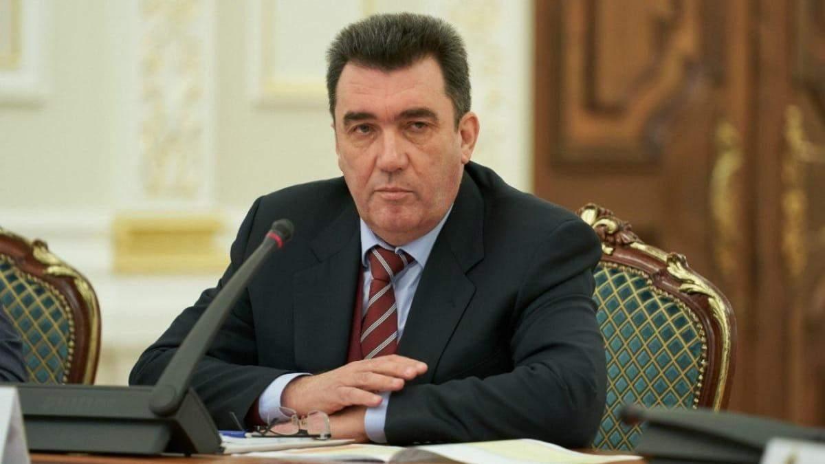 Данилов исключил открытия в Украине российских супермаркетов