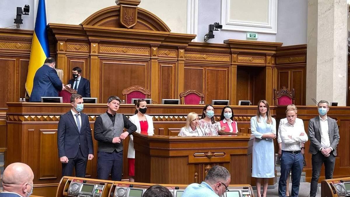 Нардепи Голосу створюють окреме об'єднання: офіційна позиція партії