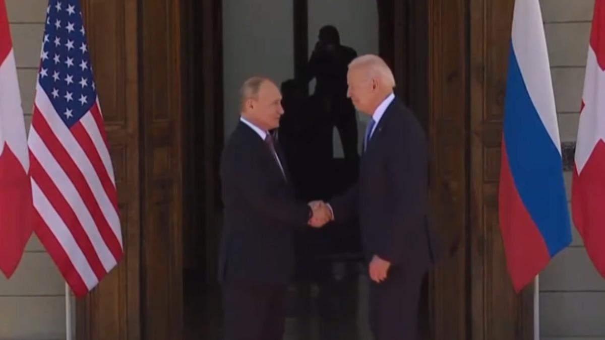 Путин и Байден встретились в Женеве: переговоры начались - видео