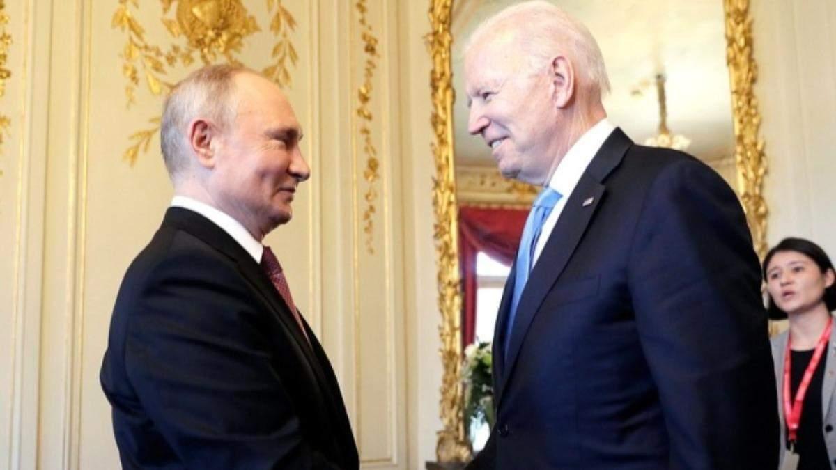 Зустріч Байдена та Путіна завершилась