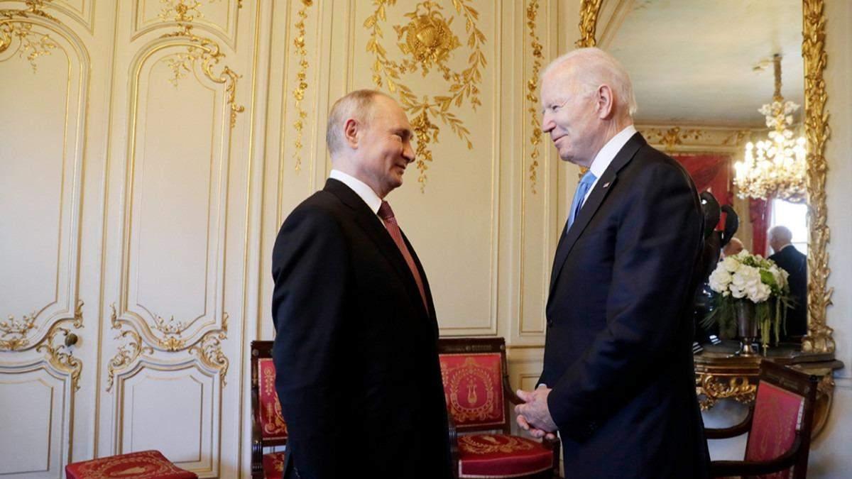 Сутичка: на фотосесії Байдена з Путіним непорозумілись журналісти