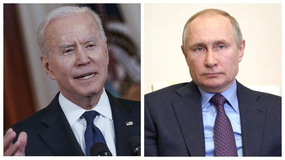 Що розповів Путін після зустрічі з Байденом: основні тези