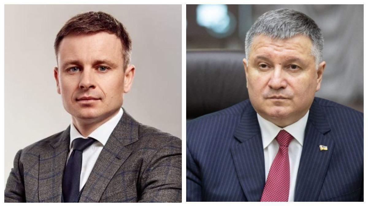 Нічого не чув, – Марченко відповів на чутки про звільнення Авакова