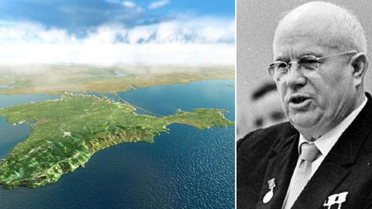 Кравчук розповів, як Хрущов нібито дарував Крим Україні