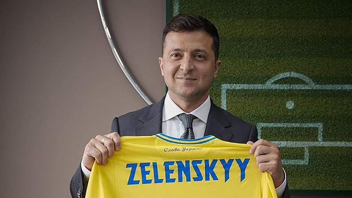 Владимир Зеленский позвонил в раздевалку сборной Украины после победы над Македонией