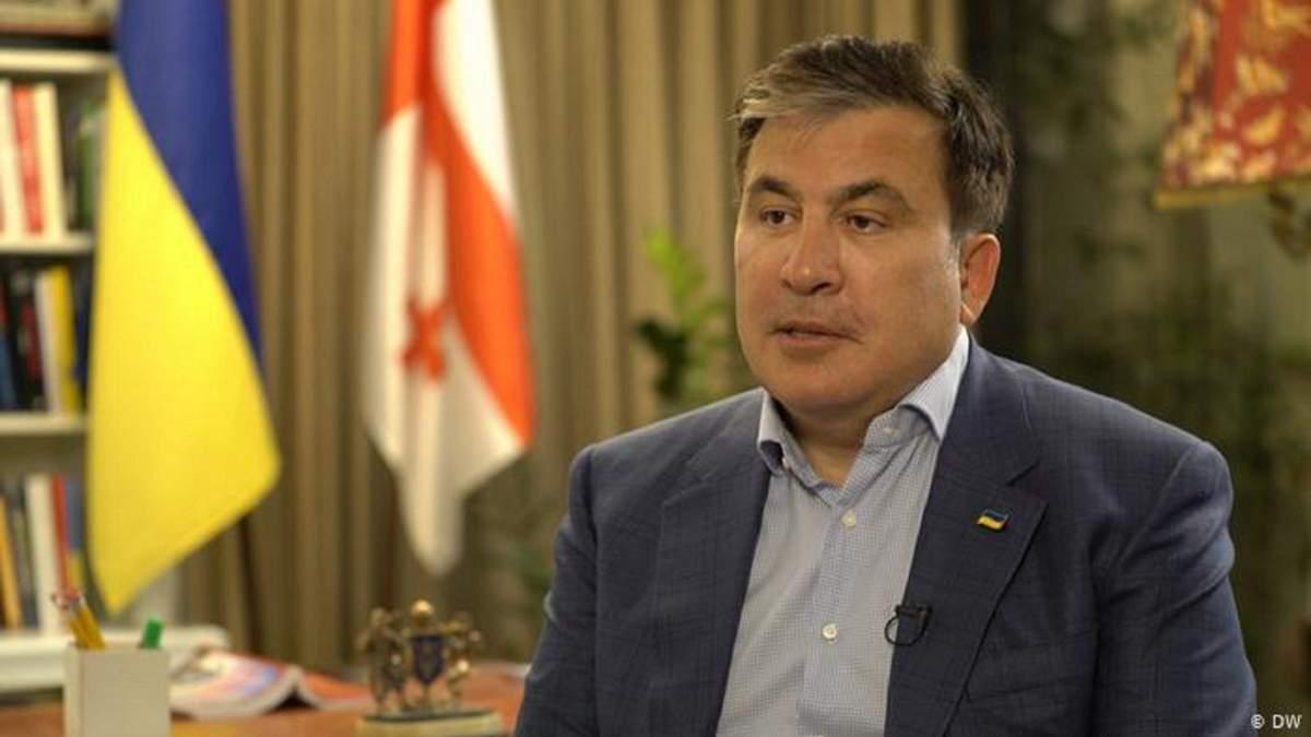 В Украине не 5 олигархов, их гораздо больше, - Саакашвили
