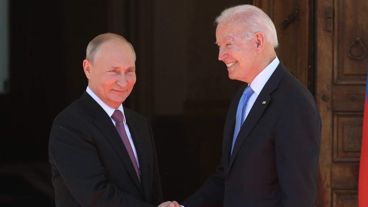 Виглядає бадьоро, – Путін описав Байдена псля особистої зустрічі