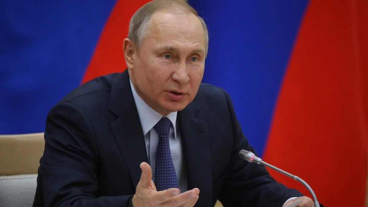 У Путина жалуются через Украину и НАТО