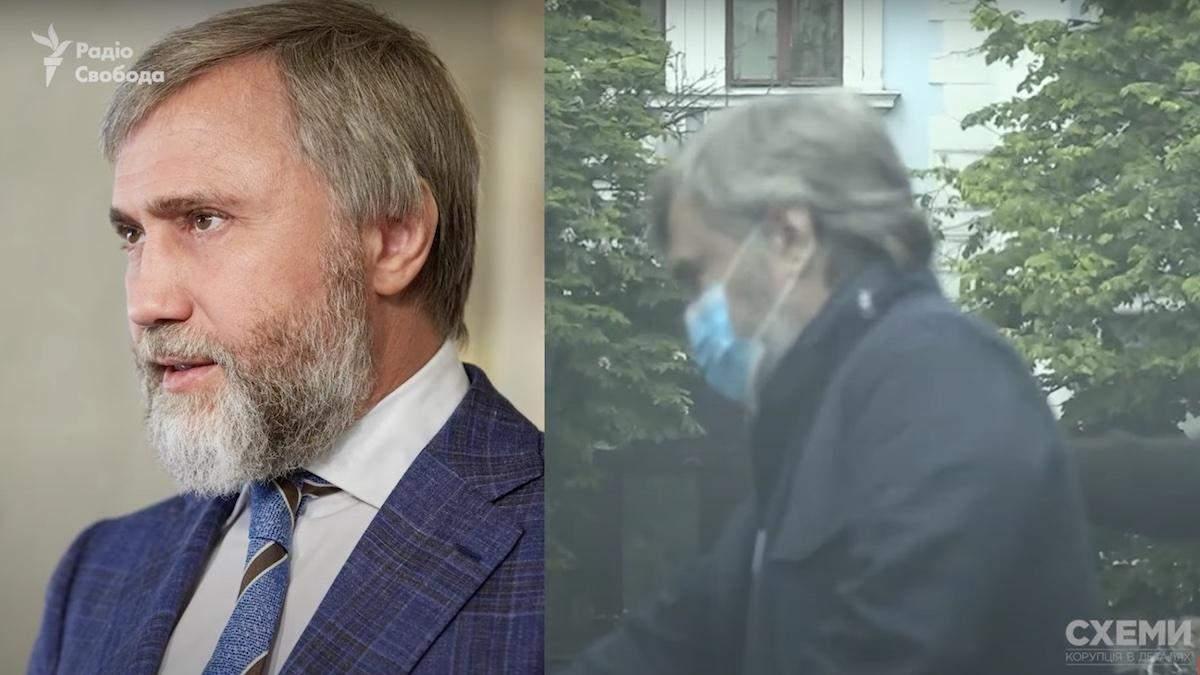 Олігарх-депутат Новинський непублічно відвідував Офіс Президента–Схеми