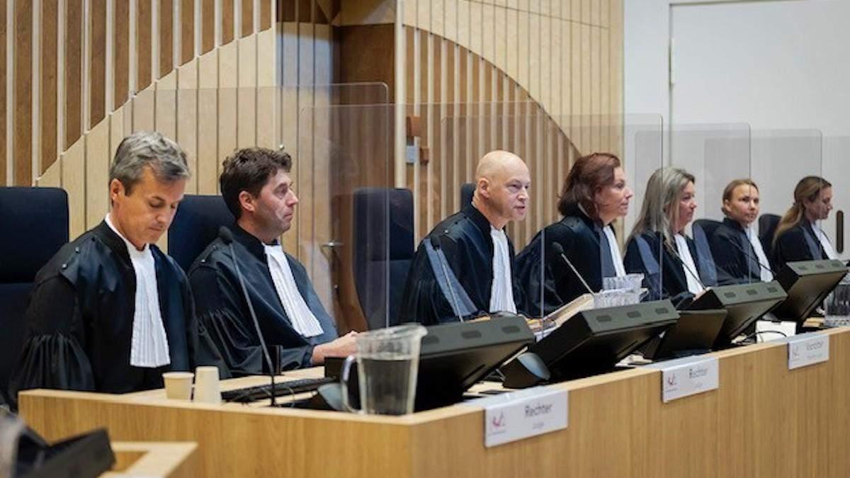 Завершился важный этап суда по делу MH17: показали все доказательства